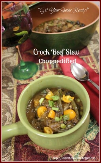 Featured on the Homestead Blog Hop Crock-Beef-Stew-Choppedified