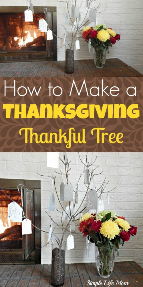 How to Make a Thanksgiving Thankful Tree