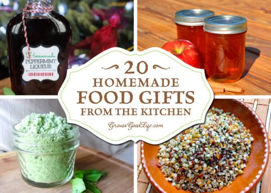 Featured on the Homestead Blog Hop - homemade-gifts-from-the-kitchen-growagoodlife