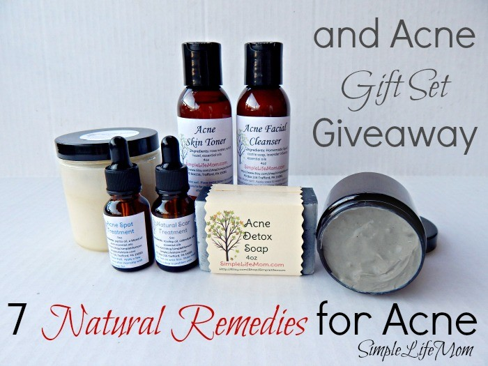 7 Natural Remedies for Acne and Gift Set Giveaway from Simple Life Mom