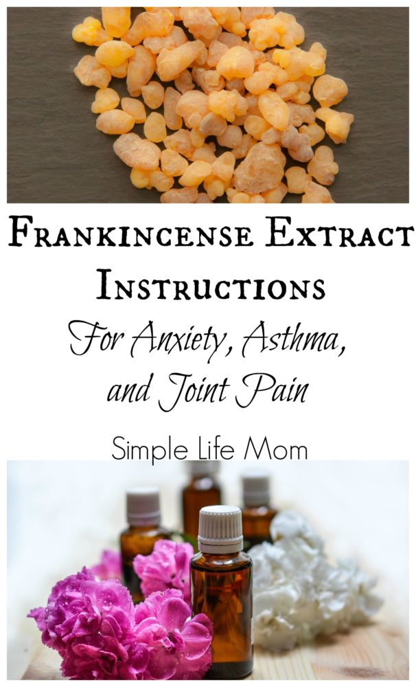Frankincense Extract Oil for Pain and Anxiety