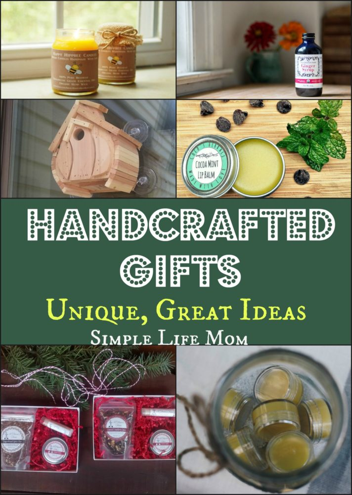 Handcrafted Gifts – Unique, Great Ideas