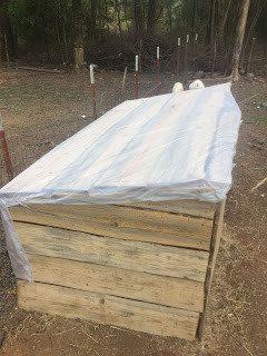 Homestead Blog Hop Feature - Constructing a New Goat Shelter