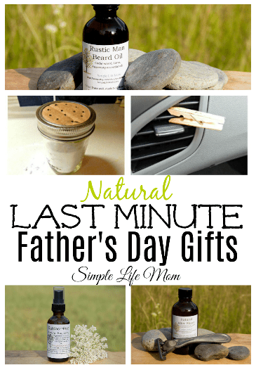 6 DIY Last Minute Father's Day Gifts – Natural & Healthy