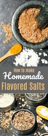 Homestead Blog Hop Feature - Flavored Salts - An easy guide to save money and make your own