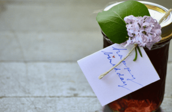 Homestead Blog Hop Feature - Making and Gifting Floral Simple Syrup