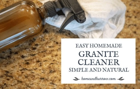 Hometead Blog Hop Feature - All Natural Homemade Granite Cleaner