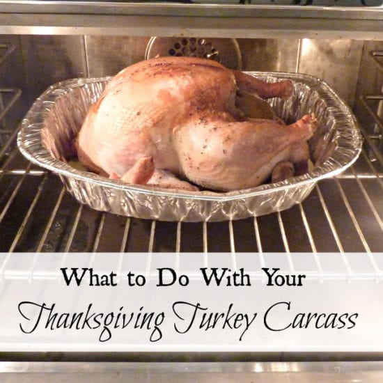 Homestead Blog Hop Feature - What to do with your thanksgiving turkey carcass