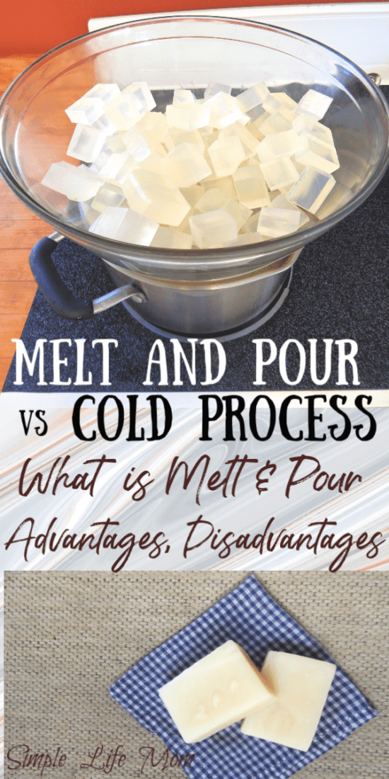 Melt and Pour Soap vs Cold Process Soap Making