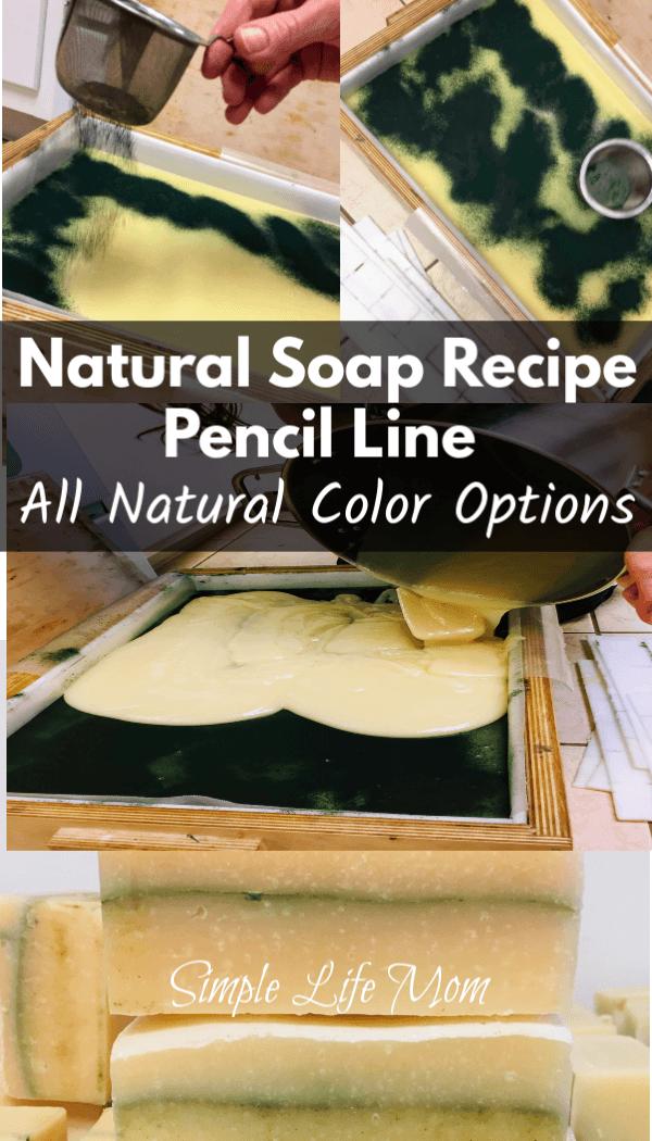 Pencil Line Soap – How to Make a Pencil Line and Recipe