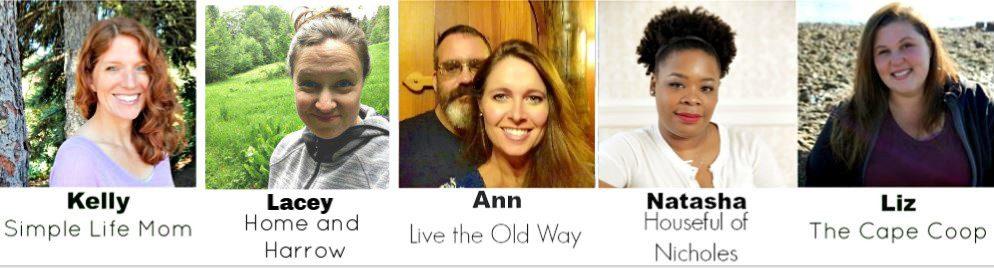 Homestead Blog Hop Hosts April 2019