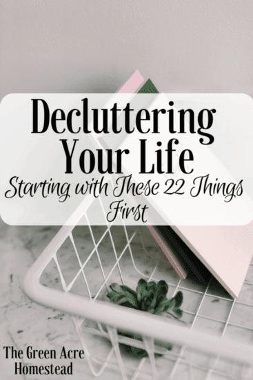 Homestead Bog Hop Feature - Decluttering-Your-Life