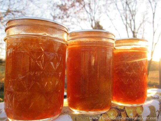 Hoemstead Blog Hop Feature - How to Make Peach Jam from Fresh or Frozen Fruit