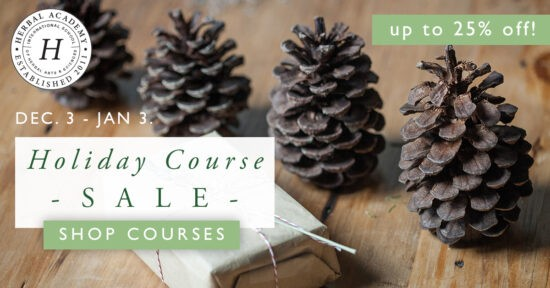 11 Last Minute Herb and Essential Oil Gift Ideas. Herbal Academy Courses.
