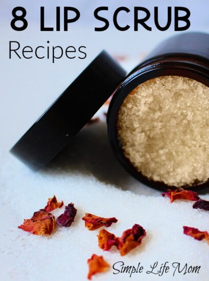 Natural Lip Scrub Recipes from Simple Life Mom