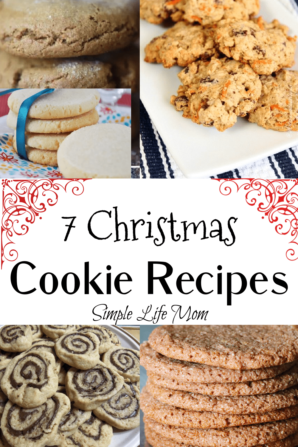 7 Christmas Cookie Recipes from Simple Life Mom