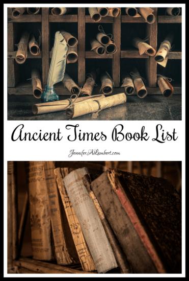 Homestead Blog Hop Feature - Ancient-Times-Book-List