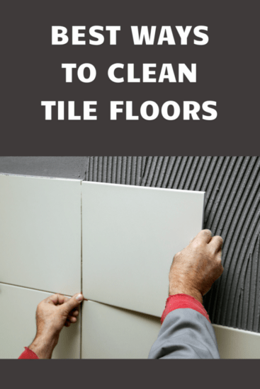 Homestead Blog Hop Feature - Best Ways to Clean the Floors