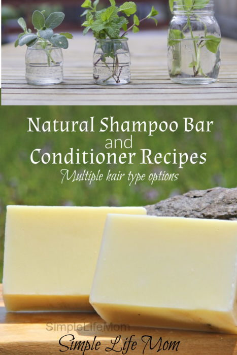 Natural Shampoo bar recipe and herbal conditioners