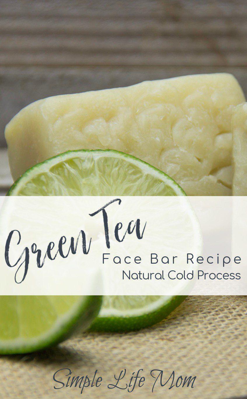 Green Tea Face Soap Recipe