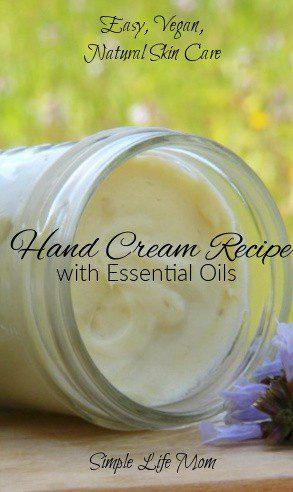 Easy Hand Cream Recipe with Essential Oils