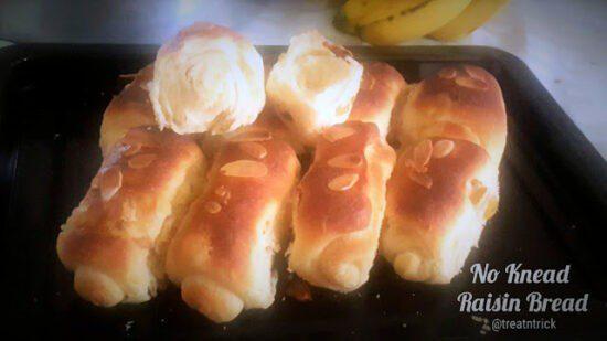 Homestead Blog Hop Feature - No Knead Raisin Bread