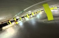 FPV Drone Racing in Car Park with Mini Quads