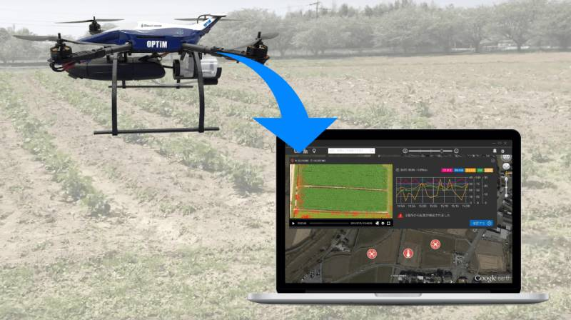 OPTiM agriculture mapping