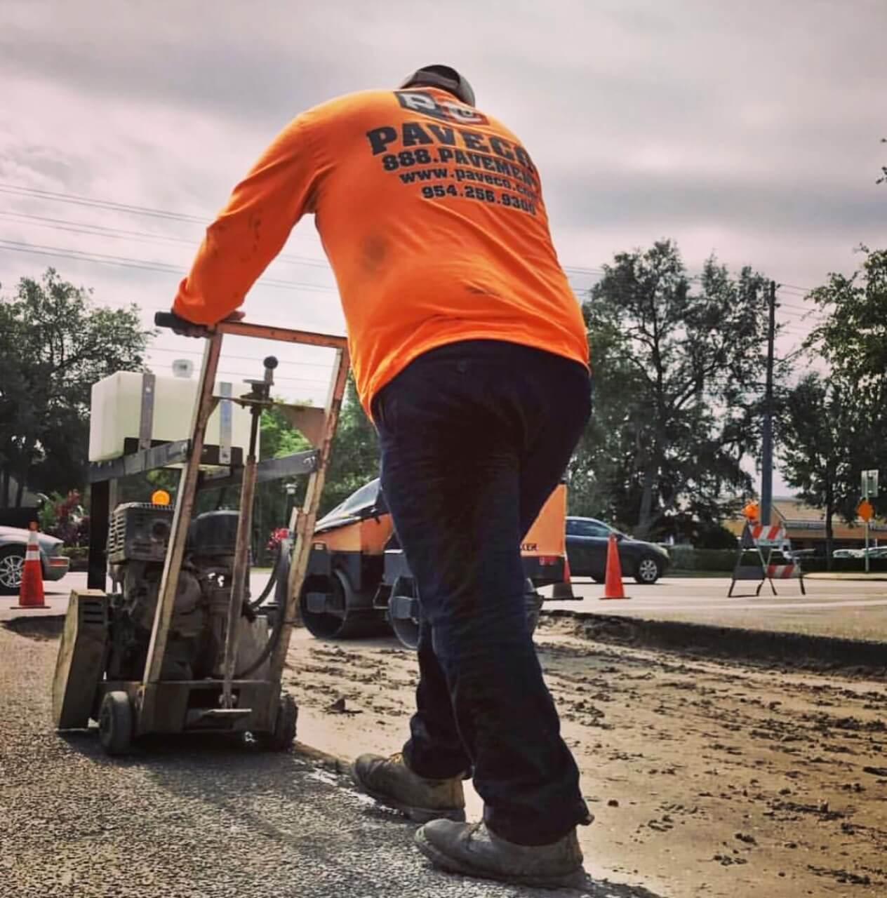 PaveCo National parking lot repair