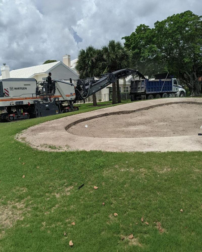 PaveCo National Golf Course Paving