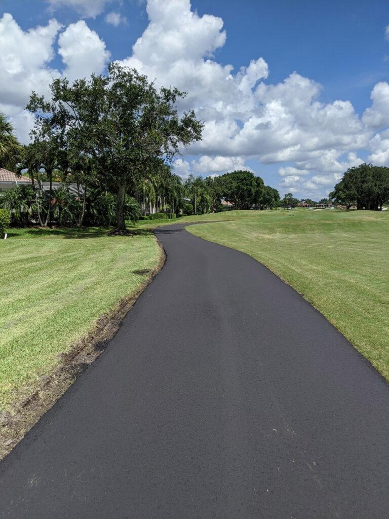 PaveCo National golf course asphalt