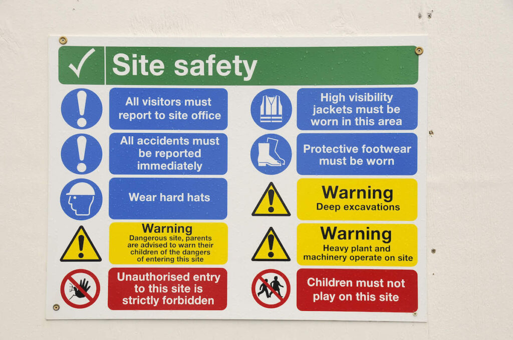 PaveCo Safety Signs