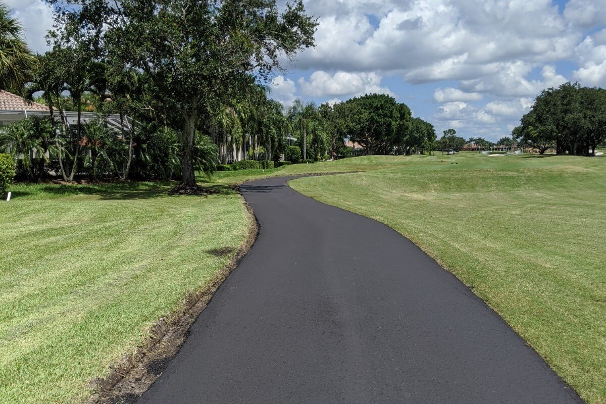 Palmer course paving