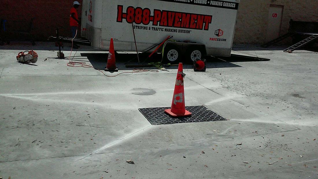 Concrete Repair at Walmart 15885 SW 88th St