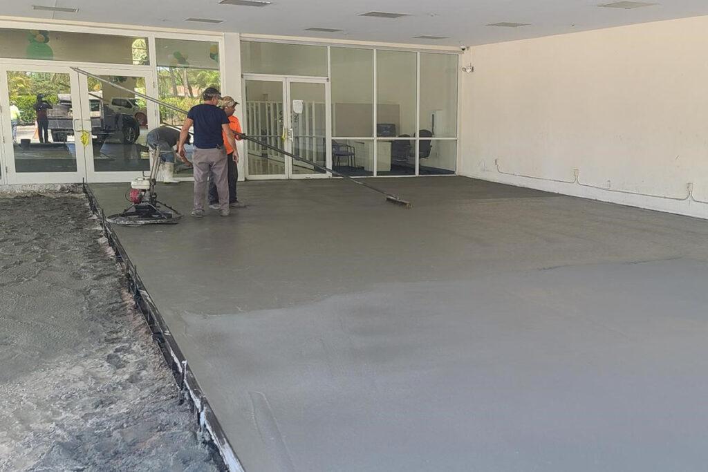 PaveCo Carbon Infused Concrete