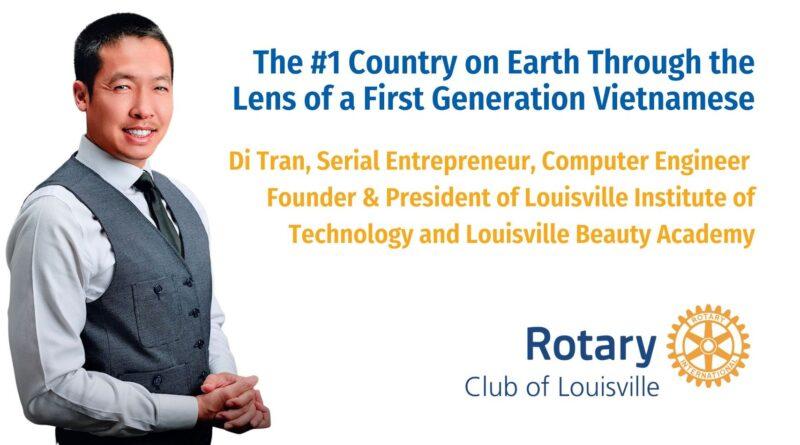 Rotary Club of Louisville - Di Tran - Speaker - 09-30-2021