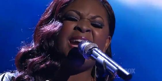 """Candice Glover promotes her new album """"Music Speaks"""" with a stirring performance of """"Cried"""" & """"Same Kinda Man."""" Photo Credit: YouTube"""