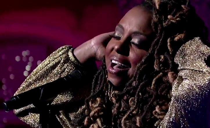 """Ledisi performs """"I Blame You"""" on David Letterman"""