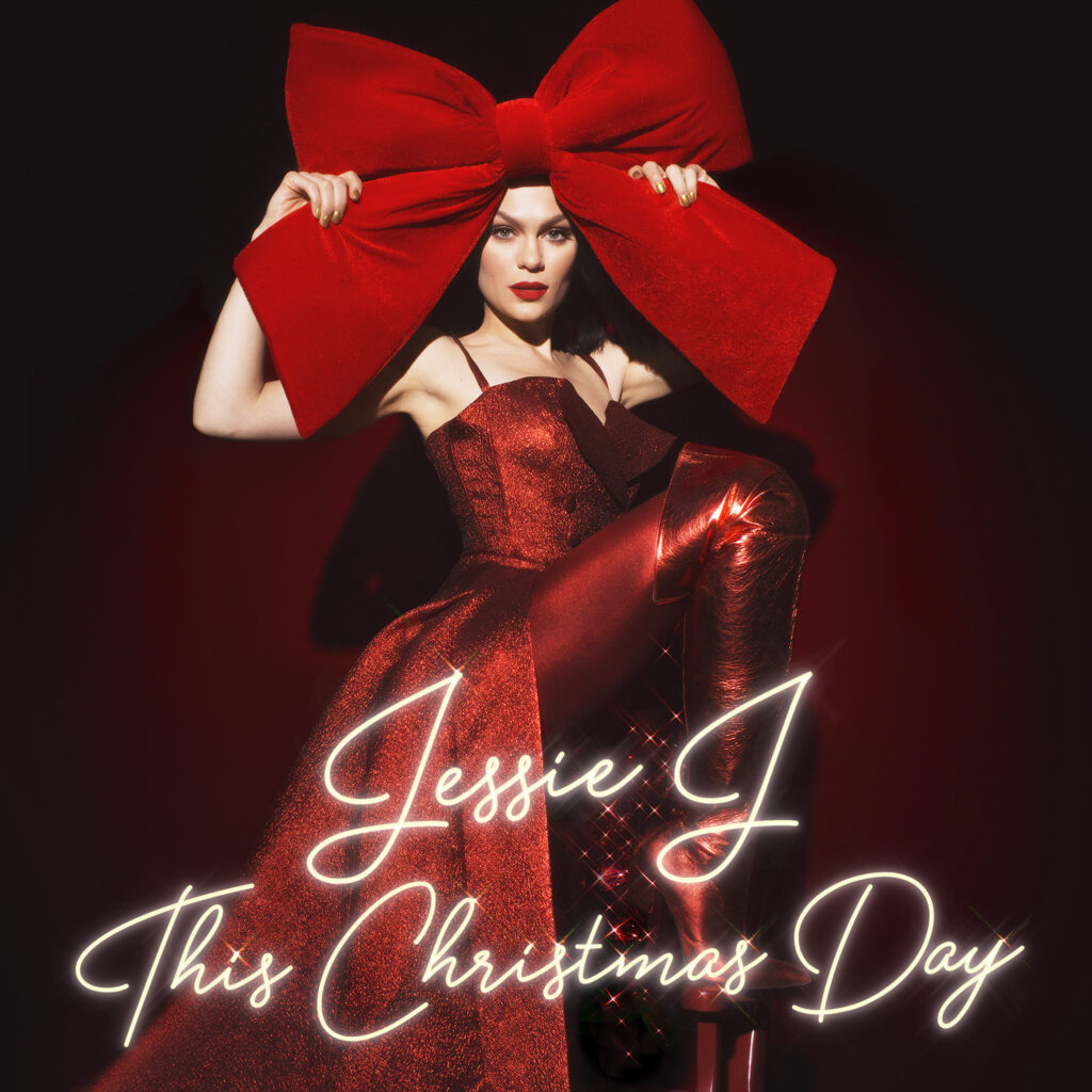 This Christmas Day album cover, Jessie J