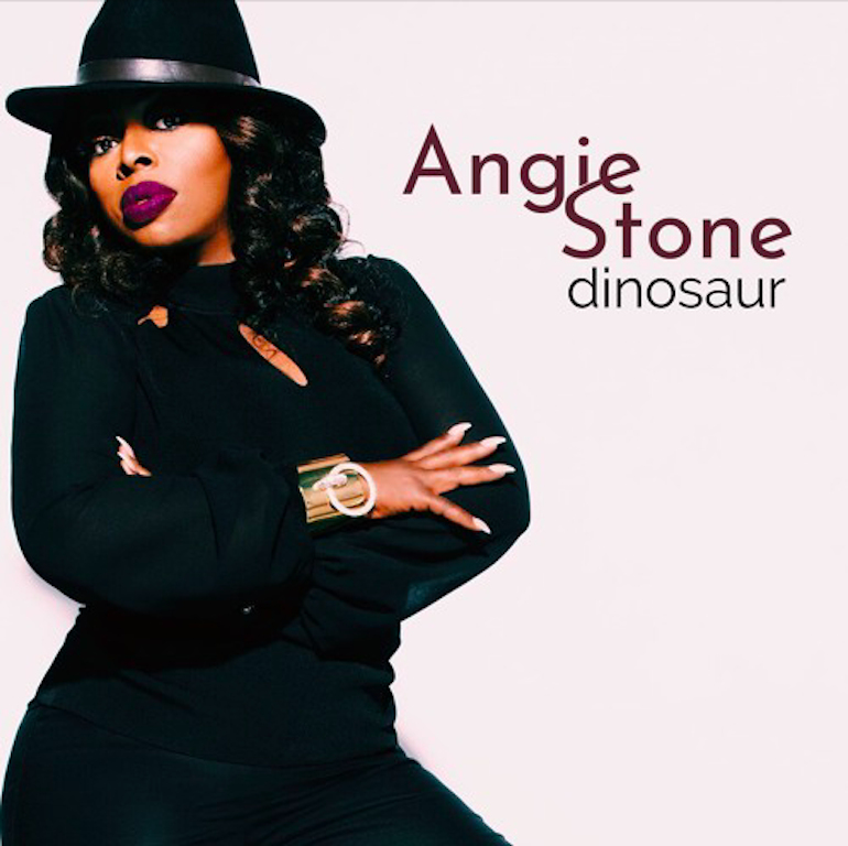 Angie Stone Dinosaur artwork