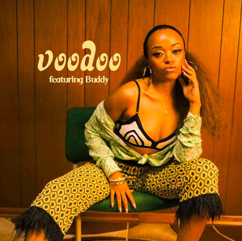 Shay Lia Voodoo single cover