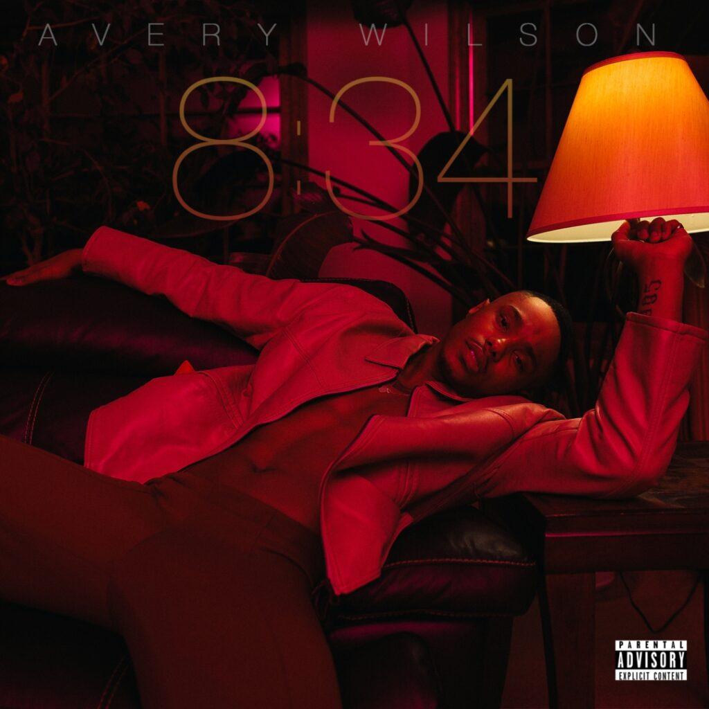 "Avery Wilson ""834"" EP cover"