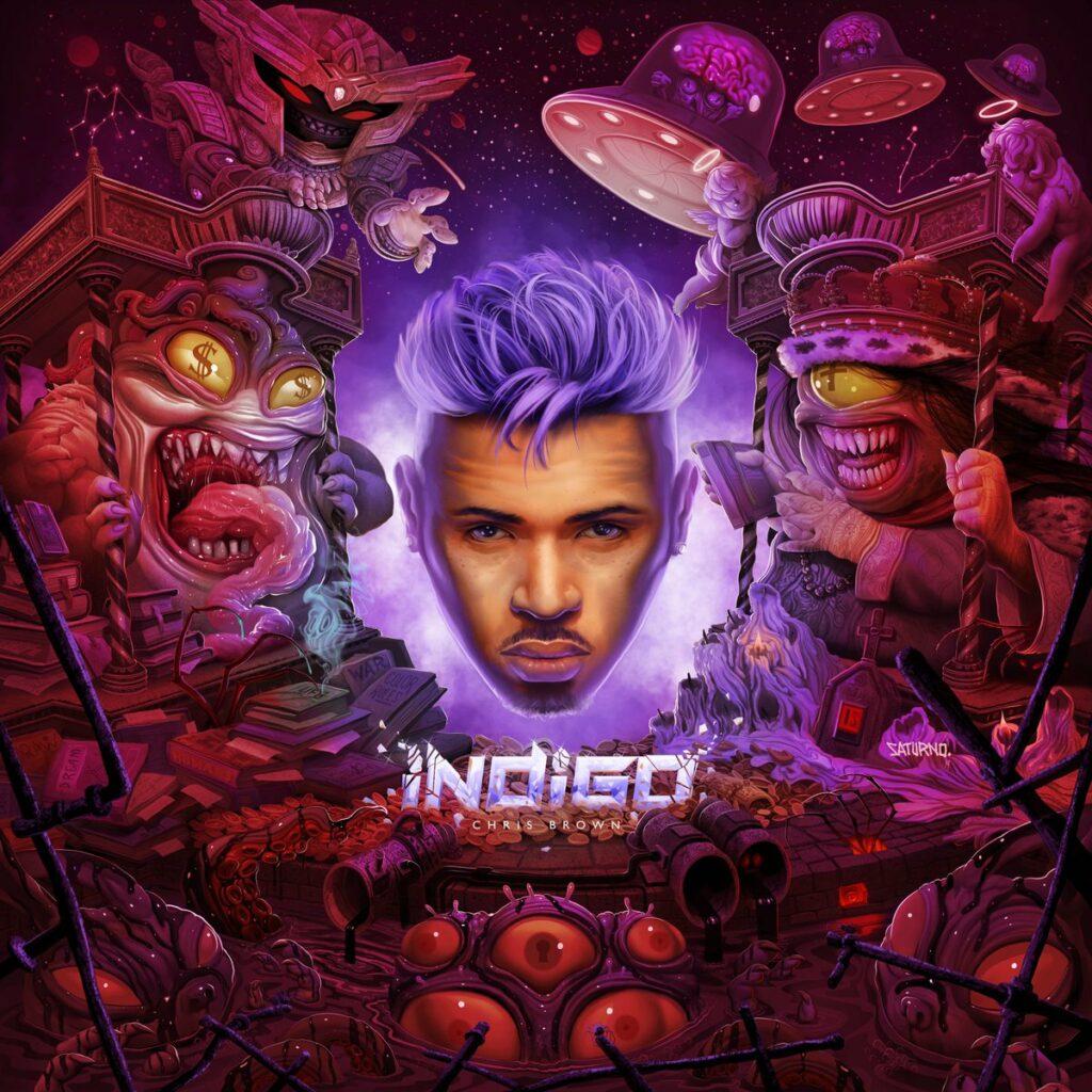 Chris Brown Indigo album cover