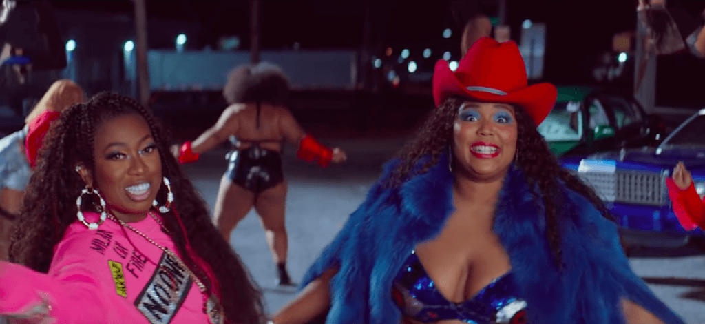 Lizzo and Missy Elliott Tempo video