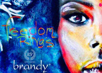 "Brandy ""Freedom Rings"" single artwork"