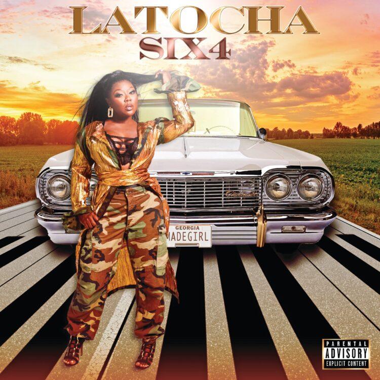"LaTocha ""Six4"" single cover"