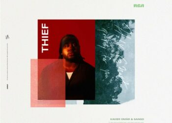 """Xavier Omar """"Thief"""" artwork"""