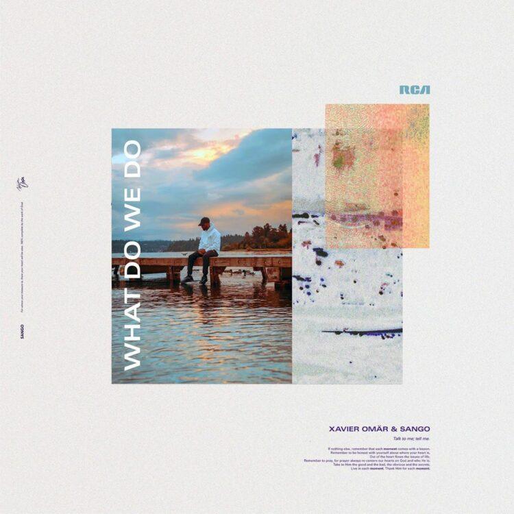 """Xavier Omar """"What Do We Do"""" single cover"""