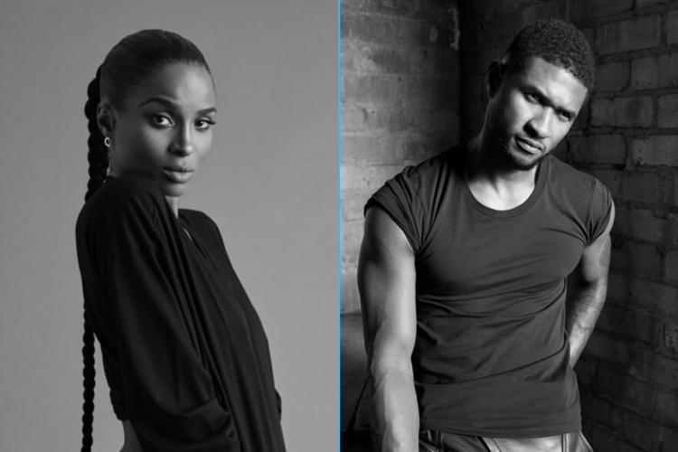 Ciara and Usher