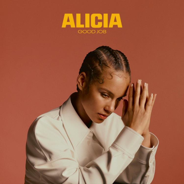 "Alicia Keys ""Good Job"" single cover"